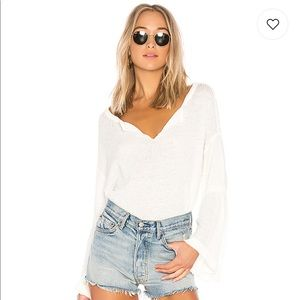 Free People Dahlia Thermal Pullover Sweater